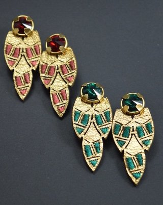 Image of Earrings Little Ketsali-Lamal'ín