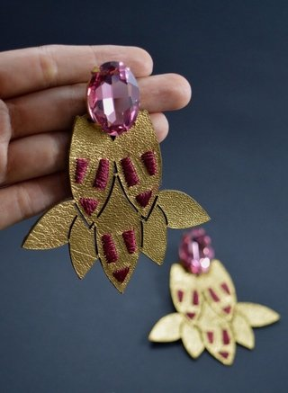 Image of Earrings Ketsali-Lamal'ín