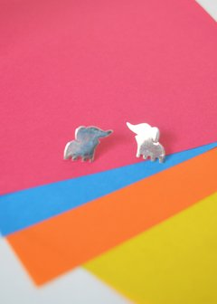 Earrings Elephants - Carolina Zavala - buy online