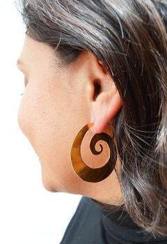 Earrings Espiral Sustainable jewelry - Lecat - buy online