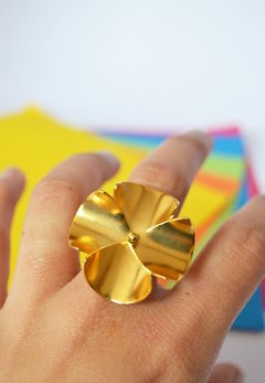 Ring Flower Sustainable jewelry - Lecat - buy online