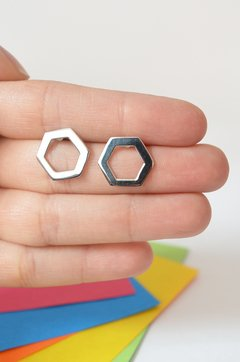 earrings Hexagonal- Carolina Zavala - buy online