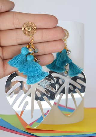 Earrings Leaf - Remembranza - buy online
