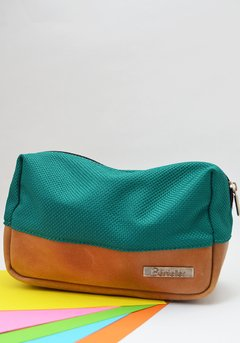 Men Wash bag green-Bénieller