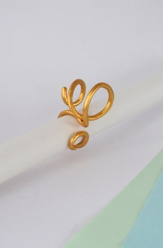 Ring Spiral Sustainable jewelry-Lecat - buy online