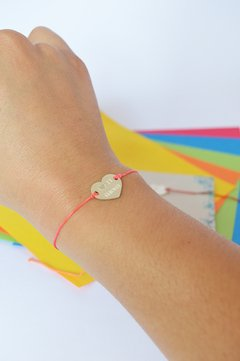 Bracelet Mom heart Sustainable jewelry-Lecat - buy online