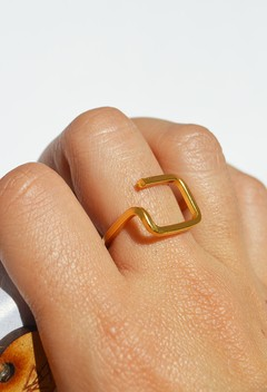 Ring Square line-Unakita - buy online