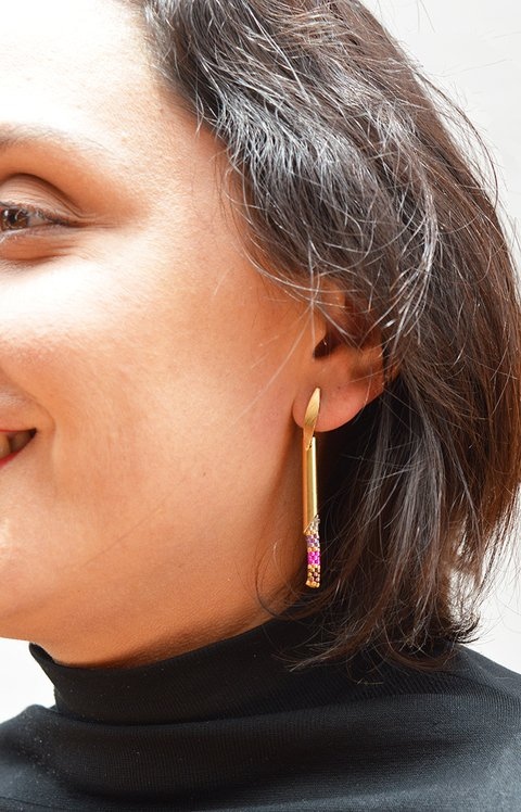 Earrings longway - Lina María Botero accesorios