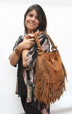 Leather Handbag Honey Pacha-Pagamento