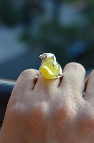Ring Playful cat-Lucas Restrepo Henao - buy online