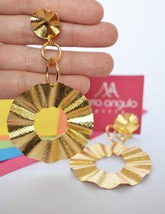 Earrings Circle Boleros - María Angulo Joyería - buy online