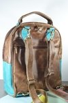 Leather Backpack Vintage lovers-La Mantrina - buy online