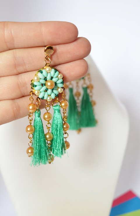 Earrings Dreamcatcher - Poemsia Accesorios - buy online