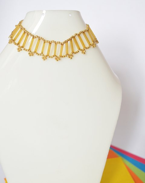 Necklace golden light - Poemsia Accesorios - buy online