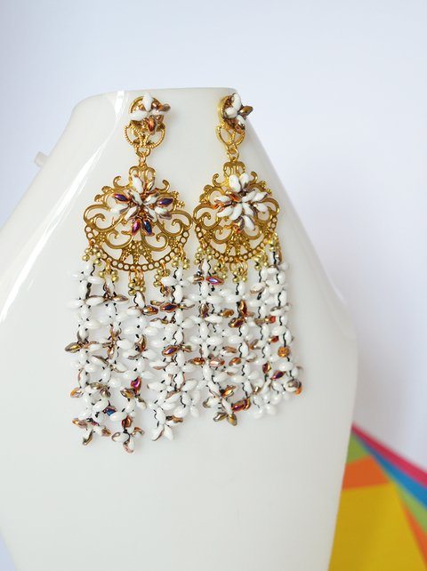 Earrings Spring flowers - Poemsia Accesorios