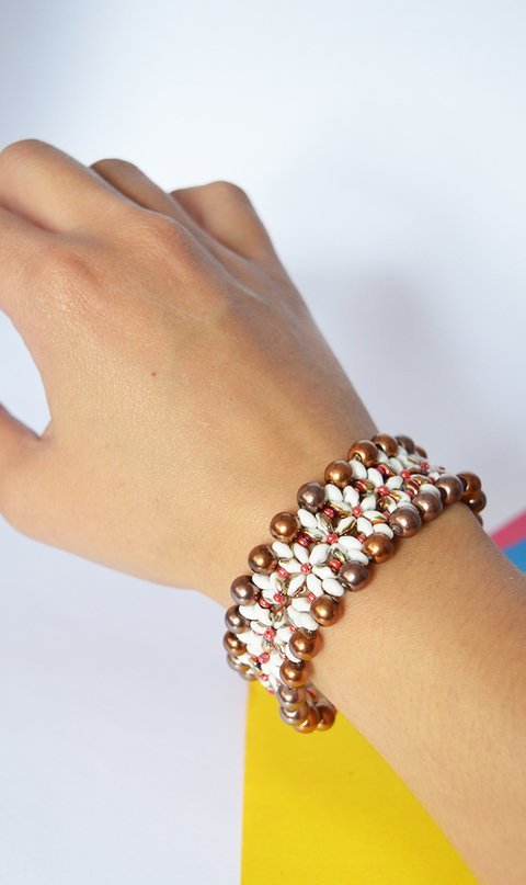 Bracelet autumn flower - Poemsia Accesorios - buy online
