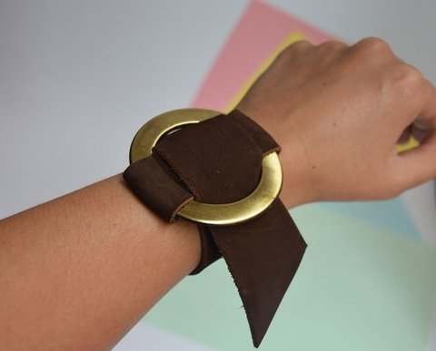 Leather Bracelet Circle-Pagamento