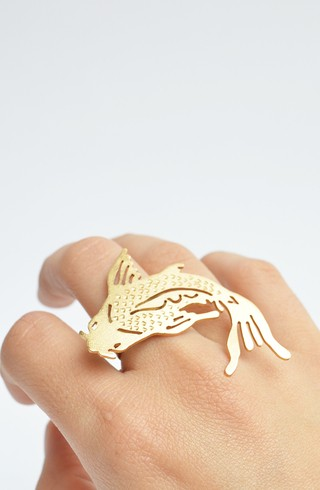 Image of Ring  Koi fish-Donella
