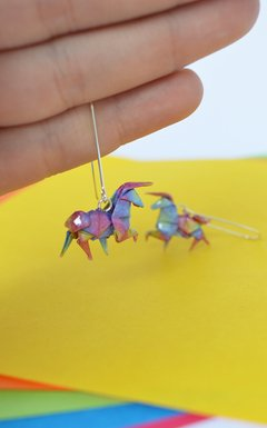 Earrings Unicorn - Papel Plegado - buy online