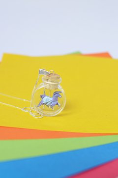 Necklace Unicorn - Papel Plegado