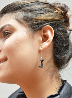 Earrings Skinny Cat - Papel Plegado - buy online