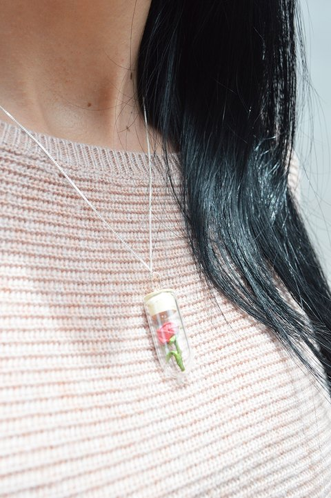Necklace Rose - Papel Plegado - buy online
