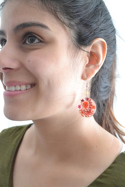 Earrings Circle - Floresse