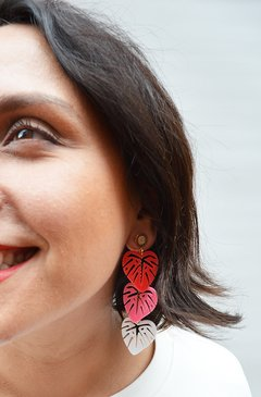 Earrings  Little leaf - Remembranza