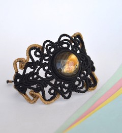 Bracelet-Yellow planet-Sapriet Taller