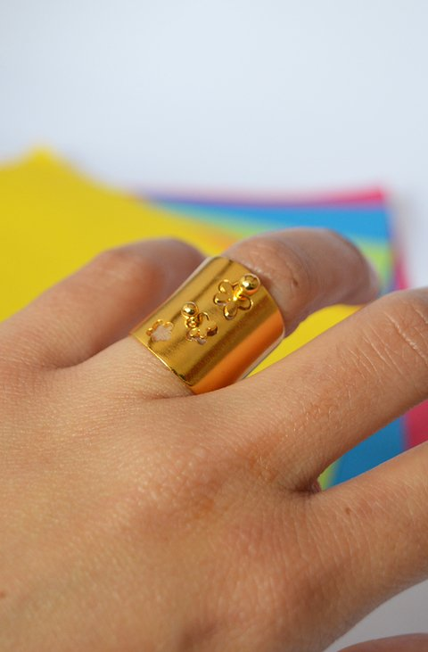 Ring Sauco Sustainable jewelry - Lecat - buy online