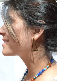 Earrings Triangle-Donella