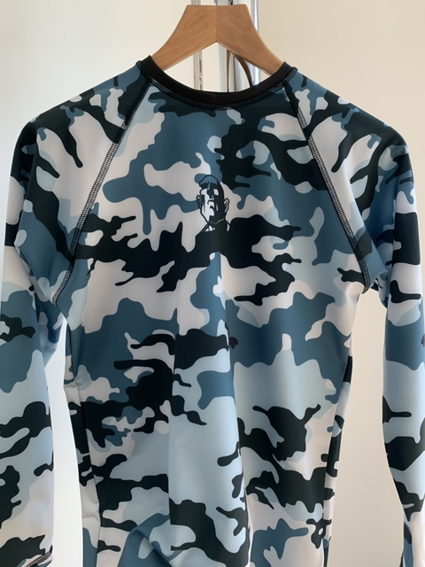 RASH GUARD URBAN BLUE