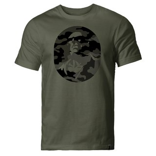 T SHIRT CAMUFLADO LOGO *EXCLUSIVE ON LINE*