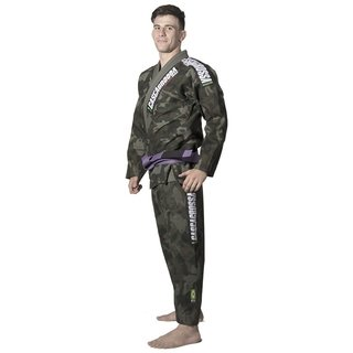 KIMONO CASCAGROSSA CAMOUFLAGED  JUNGLE - buy online