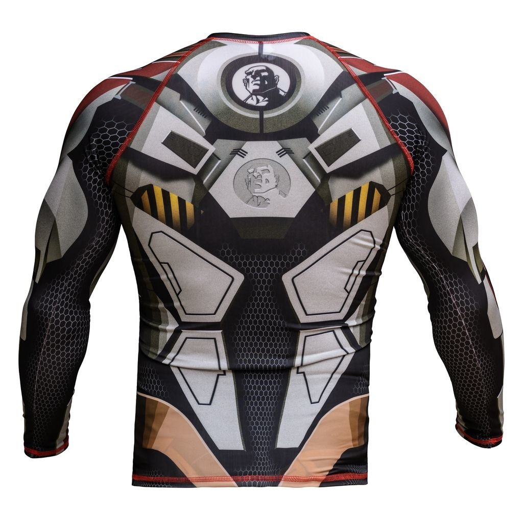 0ff70d9d4 ... internet RASH GUARD   ROBOT - Casca Grossa Wear