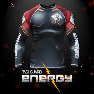 RASH GUARD ENERGY na internet