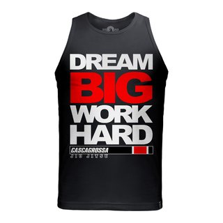 TANK TOP BIG DREAM BLACK