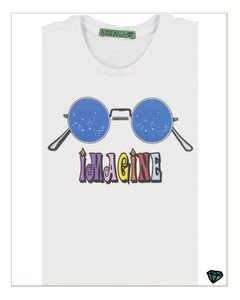 T- Shirt Imagine  Branca - comprar online