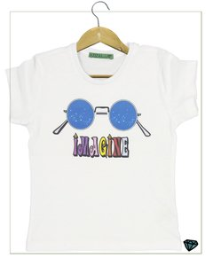 T- Shirt Imagine  Branca