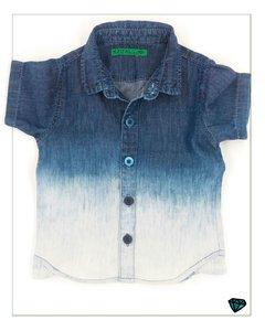 Camisa Liocel Slim Fit Degradê