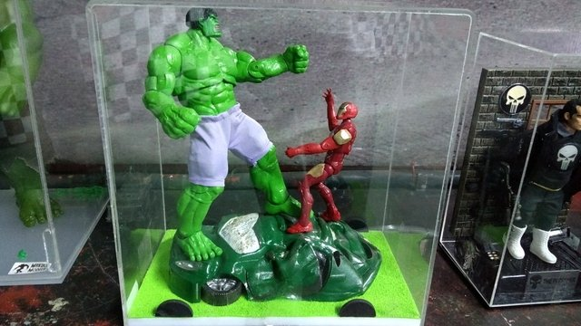 Diorama do hulk