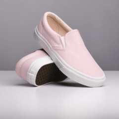 Zapatillas Vans Slip On (Vansbuck) Heavenly Pink/Blanc (z94144r) 56