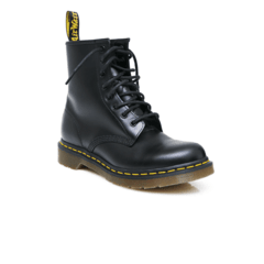 Dr Martens 1460 8 Eye Boots Black Smooth (B9502) 00