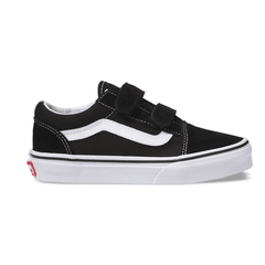 Zapatillas Vans Old Skool Kids negro blanco con abrojo (Z9334vk) 00