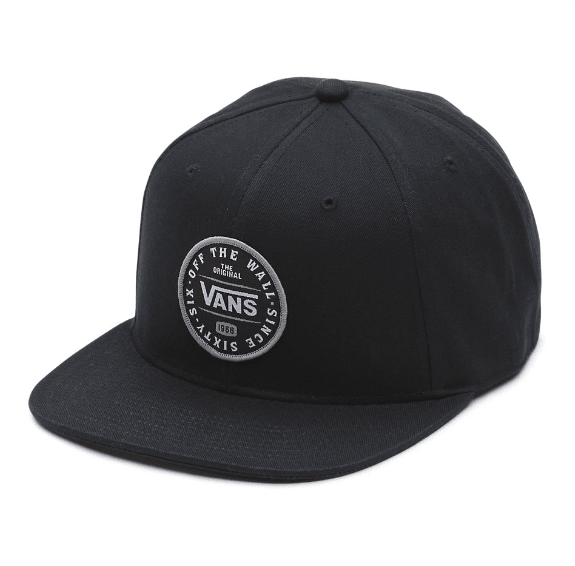 a43648cc8abaf Gorra Vans The Original Negra Bordada (G26126) 00