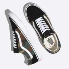 Zapatillas Vans Old Skool Woodland Camo Kids (Z9595) 98 - comprar online