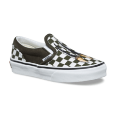 Panchas Slip On Vans Kids Dino Checkerboard (Z9602) sb en internet