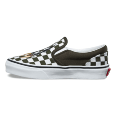 Panchas Slip On Vans Kids Dino Checkerboard (Z9602) sb - Nosepick