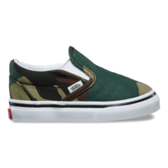Vans TODDLER WOODLAND CAMO SLIP-ON (Z9594T) 98 - tienda online