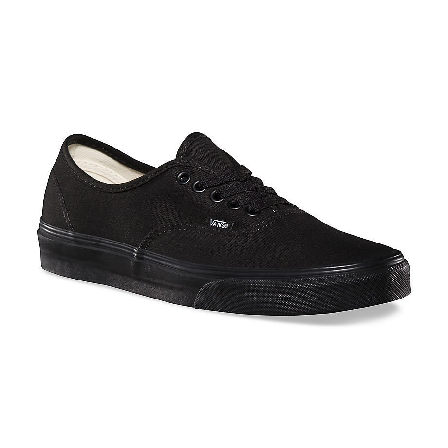 zapatillas vans black